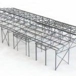 Технология строительства каркасных складов