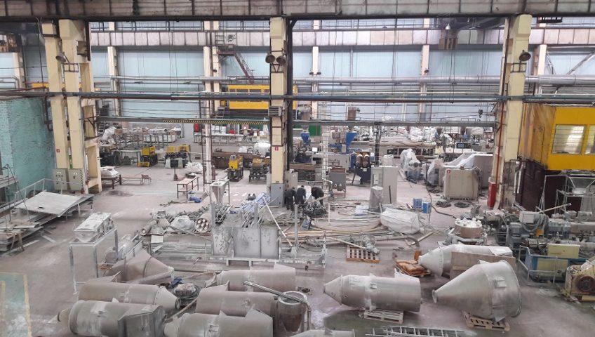 Монтаж производственных линий в Колпино