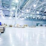 Освещение складов и производственных помещений
