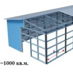 Холодный склад. S=1000 кв.м.