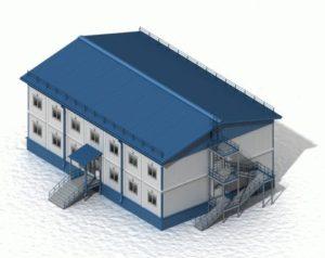 модульный склад